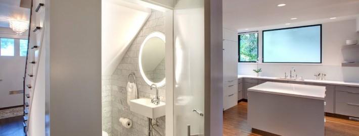 Дизайн маленького туалета: рациональная эстетика