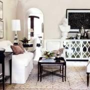 Черно-белая гостиная — лакмус вашей души