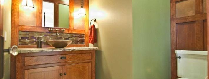 Создай свежесть природы в своей ванной комнате, оформив интерьер в зеленом цвете