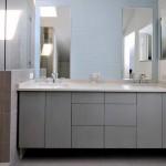 Серая ванная, наполненная гармонией – природная жемчужина