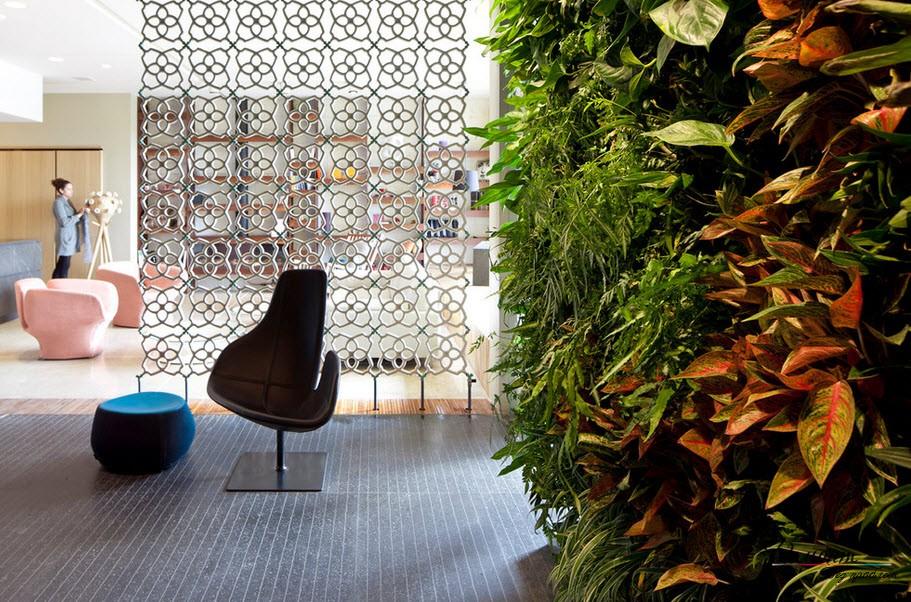 Декоративная межкомнатная перегородка - отличный способ создания эксклюзивного интерьера