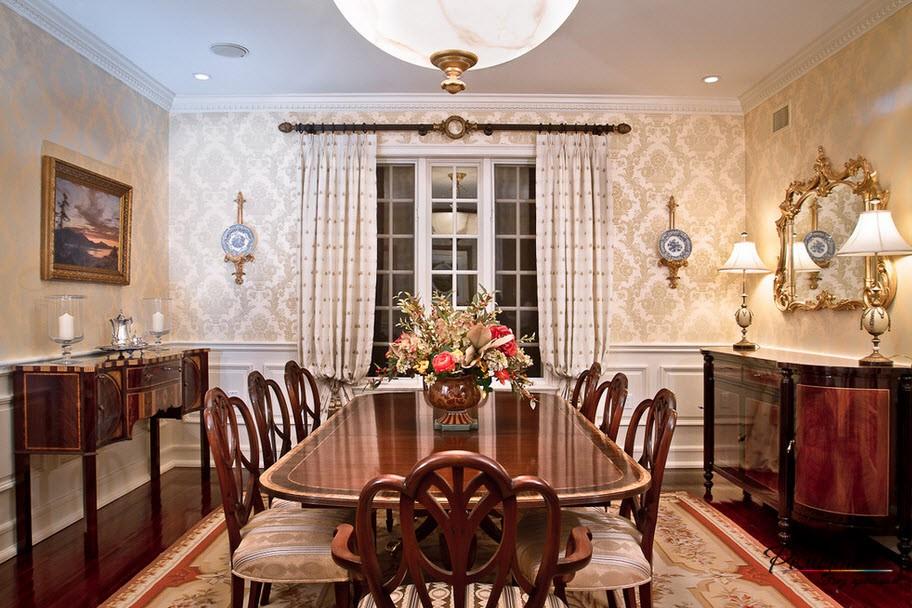 Бежевые обои в дизайне интерьера: кухня, спальня, гостиная и ...