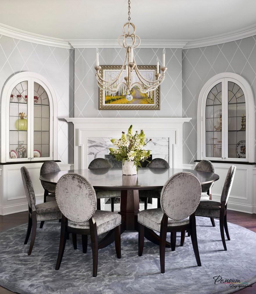 Для гостиной хорошо как темные, таки и светлые оттенки серого