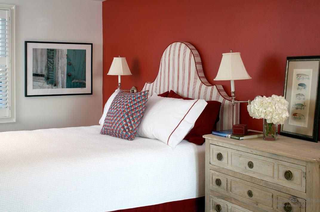 Красивые светильники в спальне