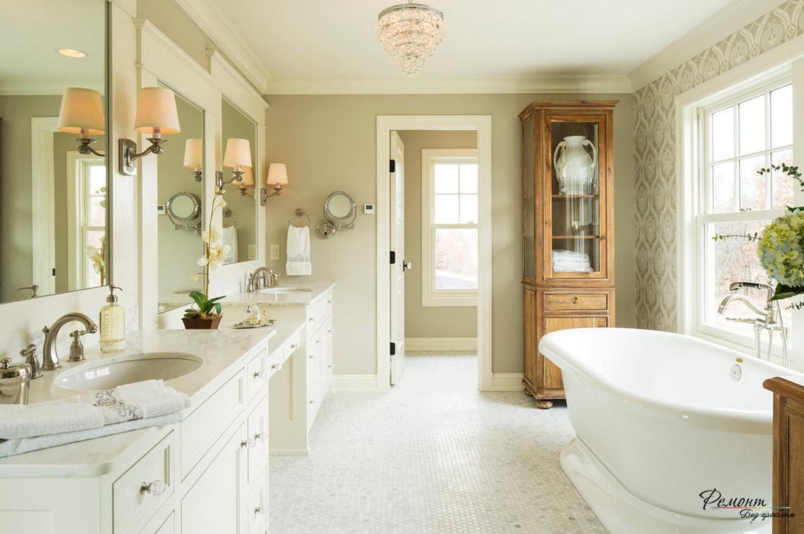 Уют и комфорт обязателен в ванной комнате