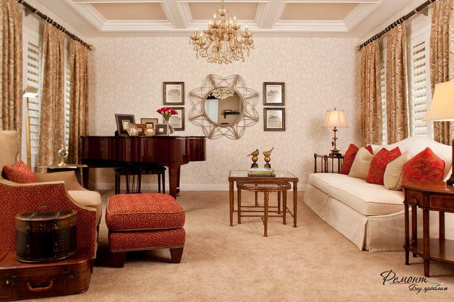 Красные декоративные подушки