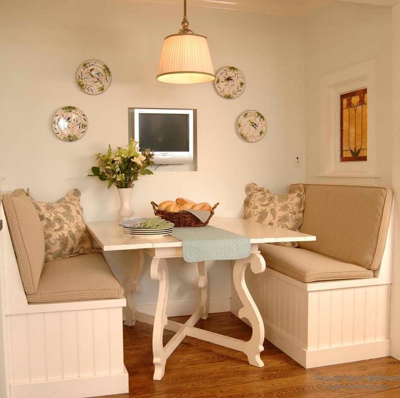 Дизайн диван на кухни дизайн