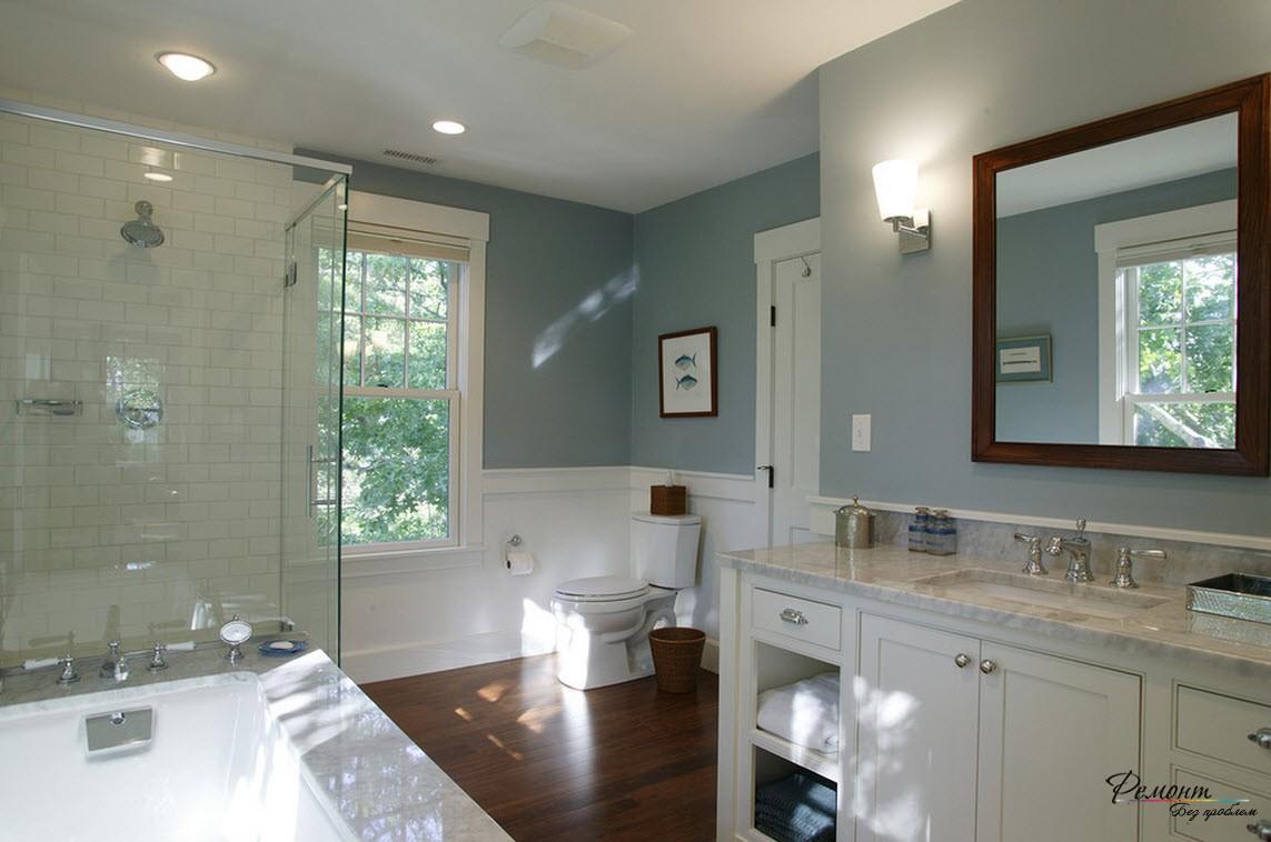 Ванная комната с плиткой Керама Марацци