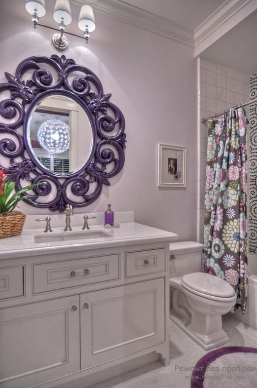 цвет в интерьере ванной комнаты