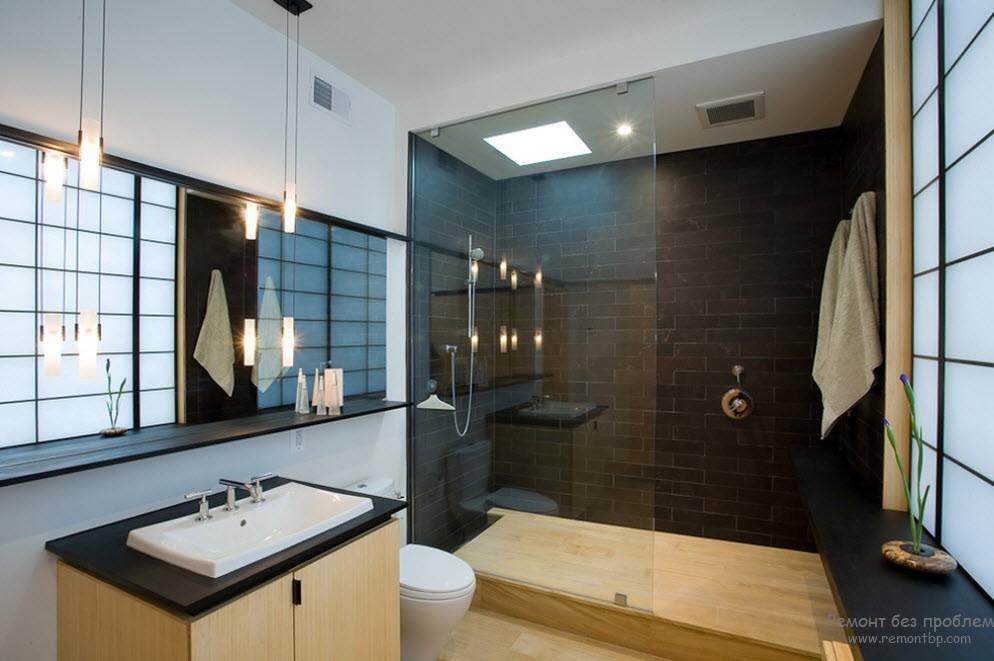 установки душевой кабины в ванной