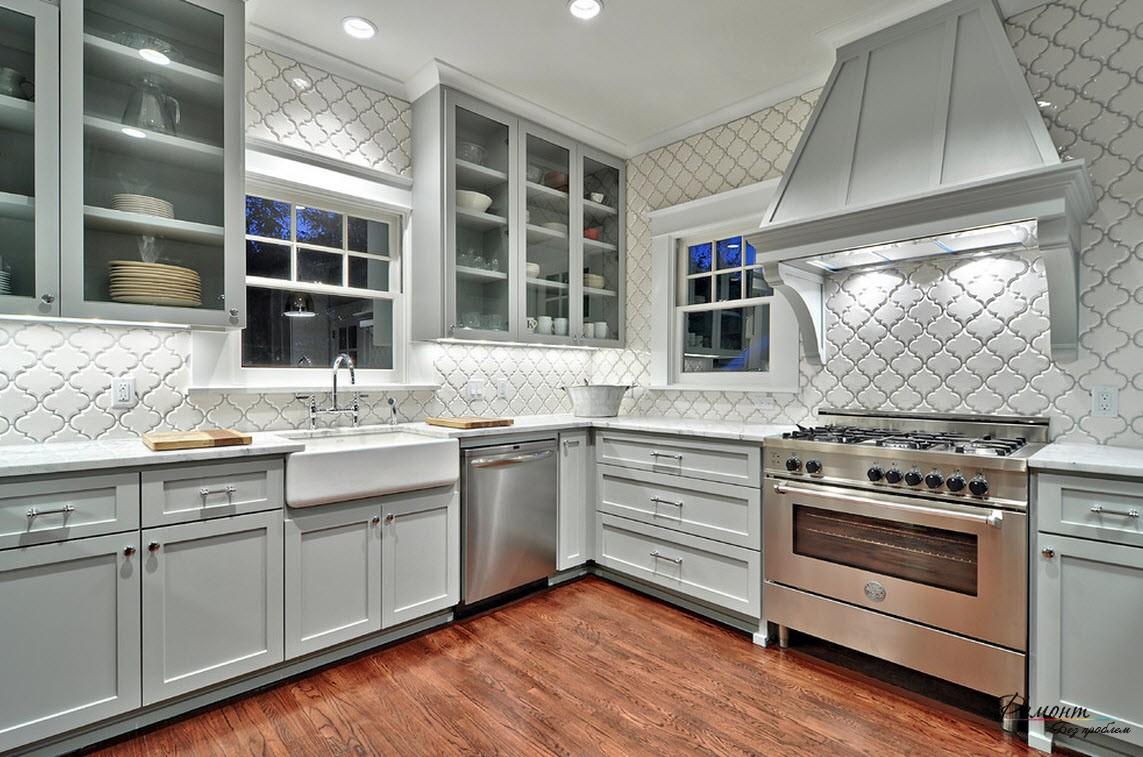 Кухня плитка дизайн