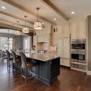 Осветительные приборы в кухне