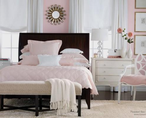 Розовая спальня – для барби и не только!