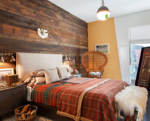 Стиль шале в деревянном интерьере