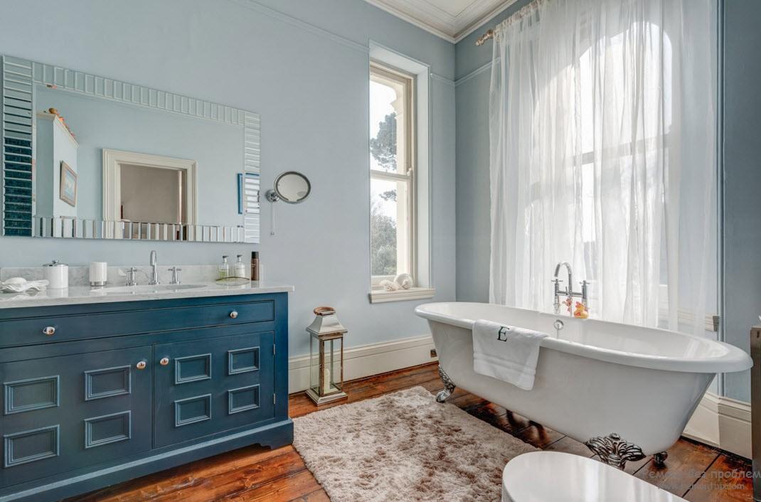 Окна в ванной