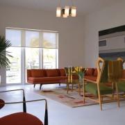 Цветная мебель в интерьере