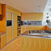 Текстурная матовая кухня