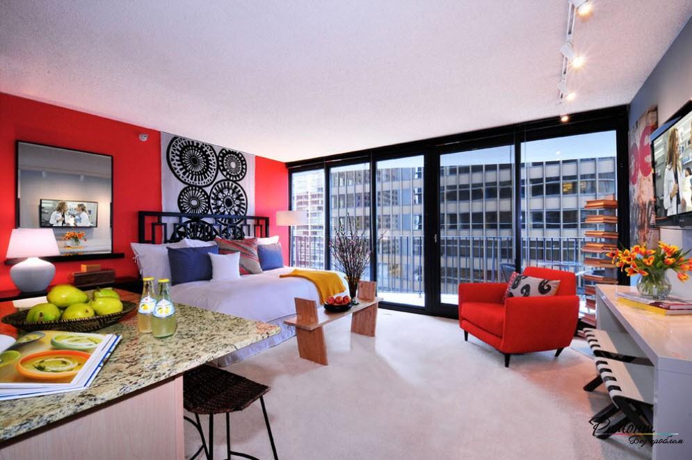 свою комнату «однушку» можно превратить в довольно-таки привлекательную квартиру