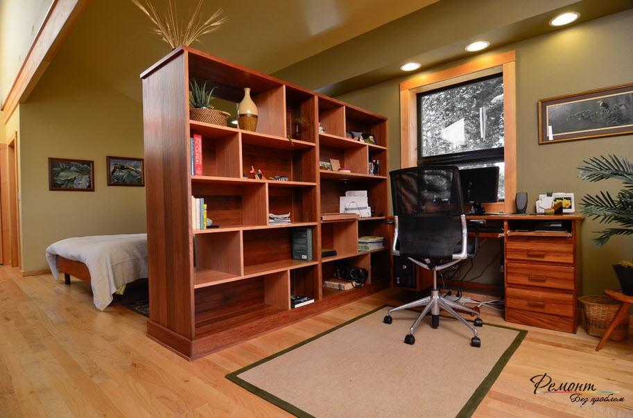Межкомнатные перегородки в интерьере: идеи зонирования комнат на фото