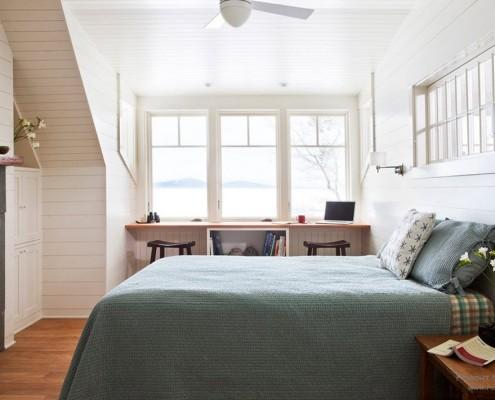 Большие окна - мало тепла в спальне