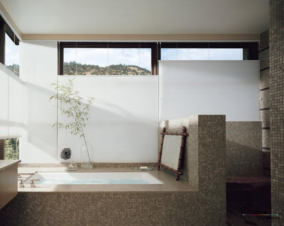 Упрощенный вариант отделки ванной