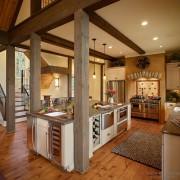 Оформление кухни в деревенсом стиле