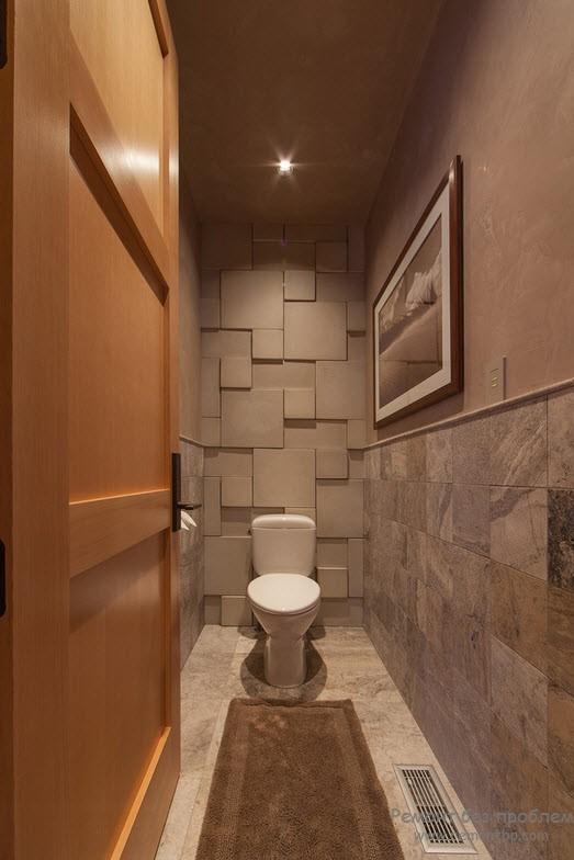 Эстетика и функция небольшого туалета