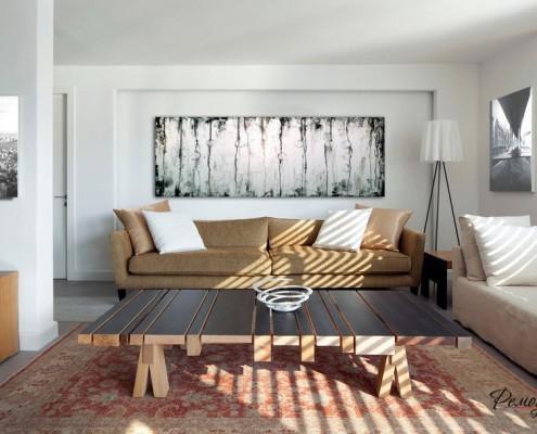 Декоративные панели внесут разнообразие в цветовой фон стены