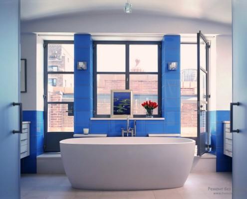 Синий цвет - цвет моря