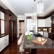 Контрастные фасады мебели