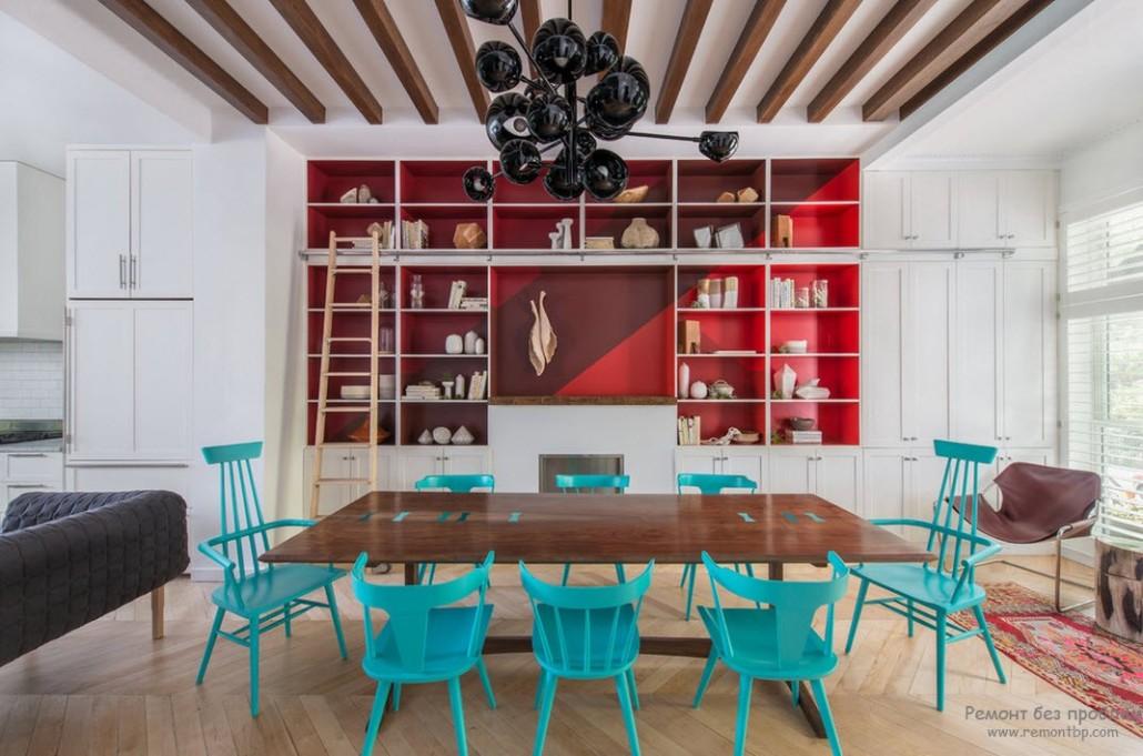 Сочетания цвета в дизайне интерьера