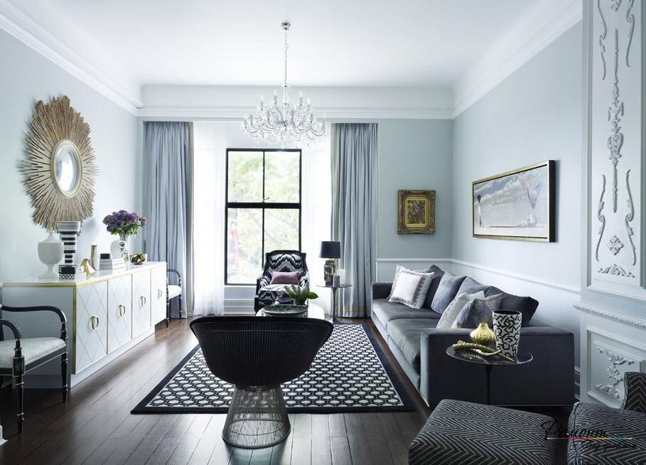Молдинг в дизайне квартиры