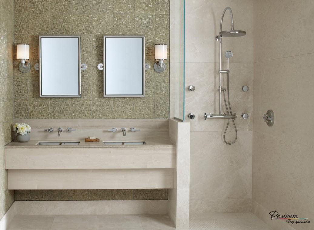 Хорошим вариантом может быть замена ванной на душ