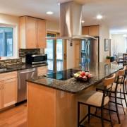 Интерьер кухни коричневого цвета: идеи оформления дизайна в коричневых тонах