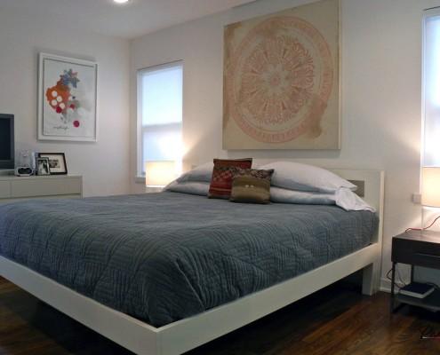 Стильный узор в спальне