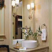 Светдые бамбуковые обои