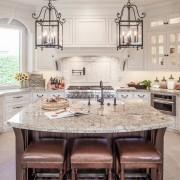 Бежевые тона в кухне