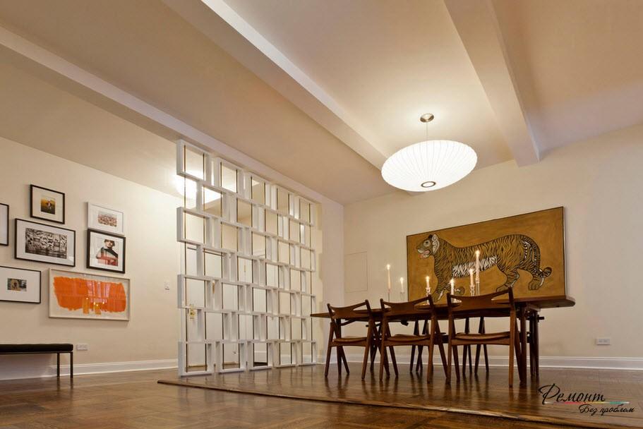 Декоративная перегородка = не только способ зонирования, но и создания стильеного интерьера