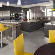 Яркие акценты на кухне