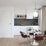 Матовая кухня минимализм