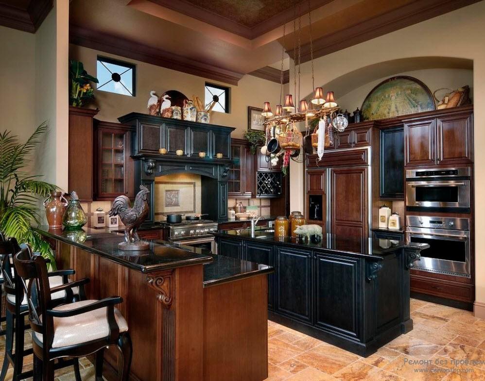 for Black cherry kitchen designs