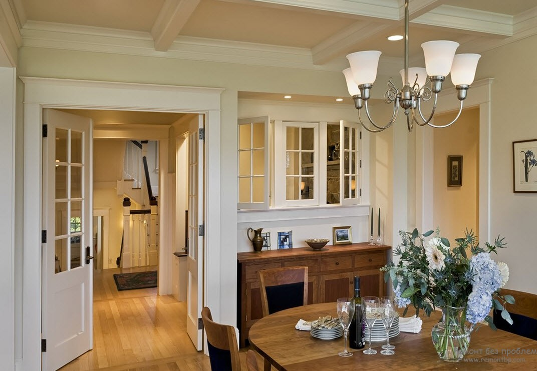 Белые двери, белые окна - прекрасное сочетание