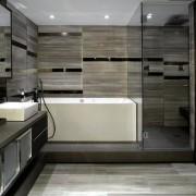 Подиумы в ванной комнате используются для скрыытия коммуникаций