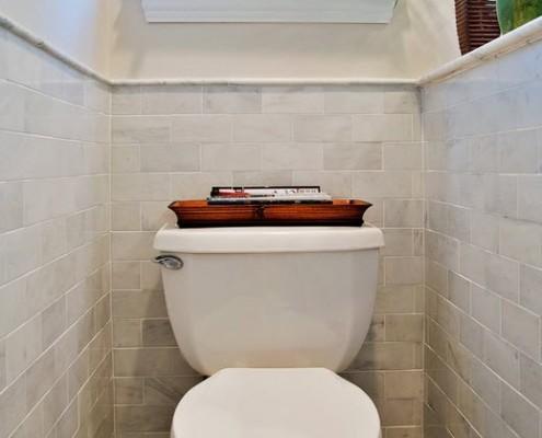 Озеленение компактного туалета