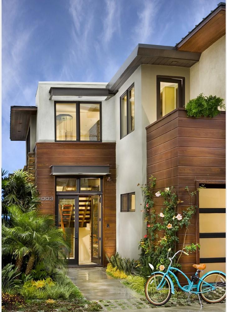 Декор фасада дома идеи