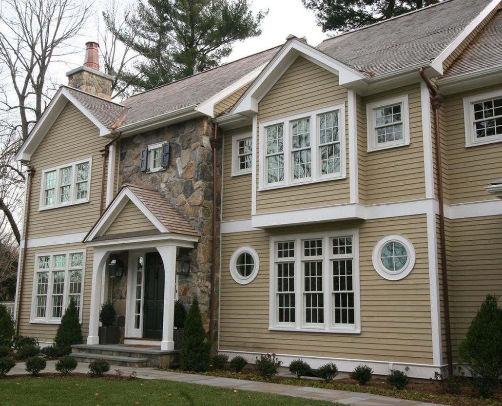Дизайн внешней отделки дома фото