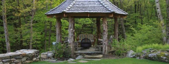 Садовая беседка – райский уголок на территории участка