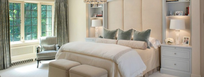 Синоним элегантности: спальня в классическом стиле