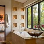Полки в ванной: используем площадь на полную