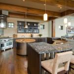 Круглая кухня: неожиданное новшество